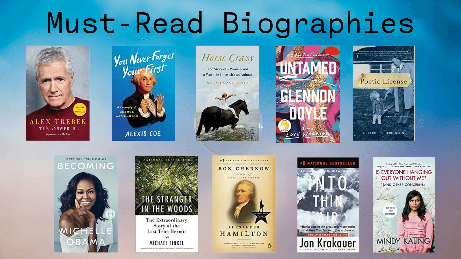 must-read biography book list