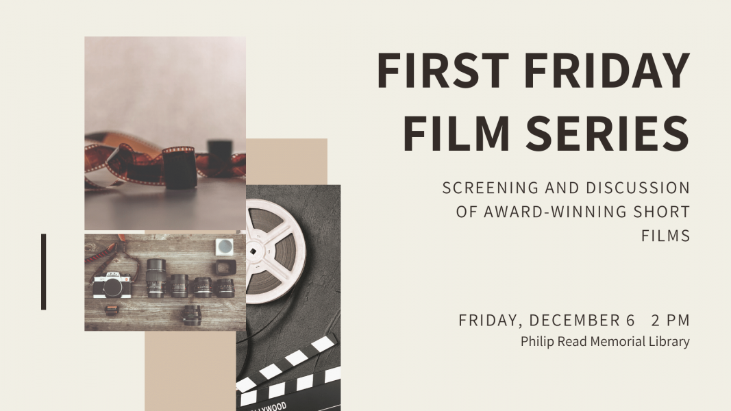first friday film series december 6 january 3