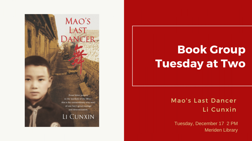 book group tuesday at two mao's last dancer
