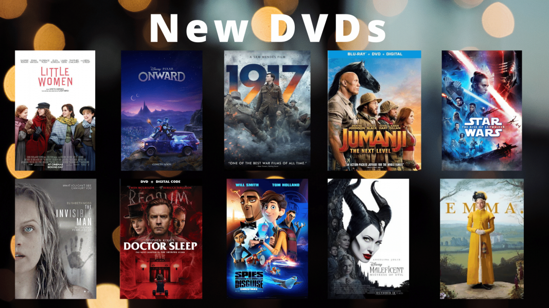 New DVD releases available