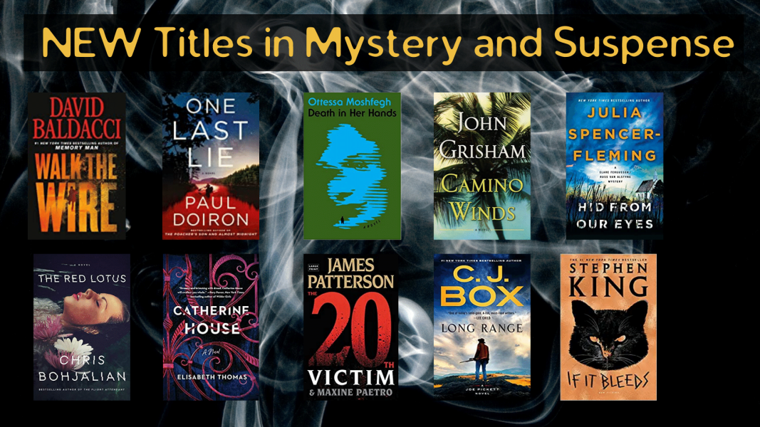 New in Mystery and Suspense