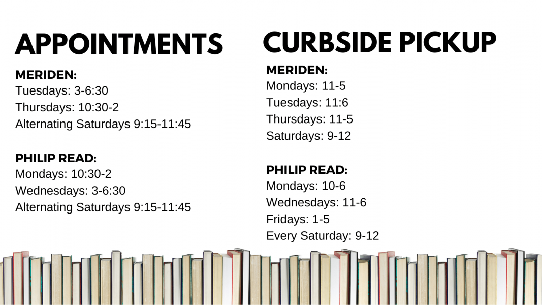 appointment curbside pickup schedule